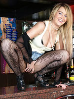Katie Strip At The Local Pub Is Shocking - Picture 7