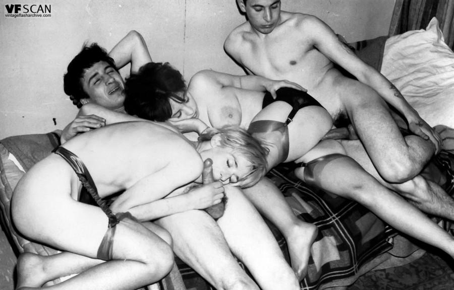 Rare porn from London Soho's kinky 1950s and 1960s!