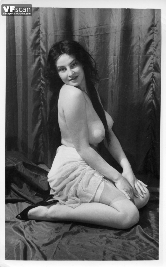 Classic vintage retro patricia rhomberg clip venus in seide 8