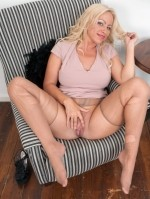 Sexy Pics 4 U- Taylor Morgan – Lick me via my hose! @ Pantyhose4u.net