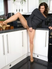 Sexy Pics 4 U- Sofia – Becoming a member of me in my kitchen? @ Pantyhose4u.net